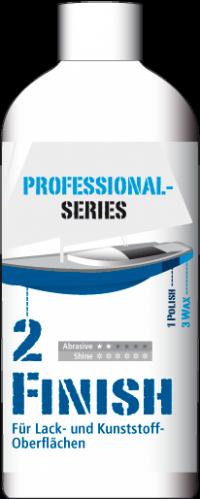 2. Bootspolitur MainCare Professional Series FINISH